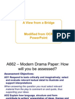 How to Answer the OCR 'A View from the Bridge' Exam Question