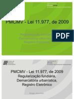 PMCMV - Lei 11.977, de 2009