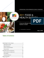2011 IFIC FDTN Food and Health Survey