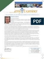 Academy of LDS Dentists Newsletter Winter 2012
