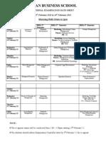 Exam Date Sheet-February 2012-3