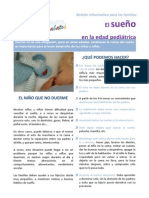 La importancia del sueño en la edad pedriátrica