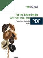 PG Marketing Brochure
