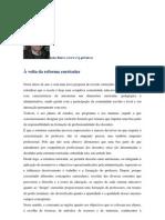 Sobre a reforma curricular. Artigo de João Ruivo