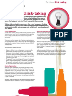 Factsheet Alcohol and Risk Taking
