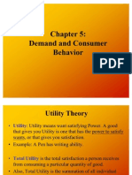 2nd Lecture-Demand and Consumer Behavior