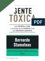 Gente tóxica - libro