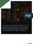 Guia construcción de tableros IEC 61439