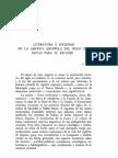 Literatura y sociedad en la América española del siglo XVI