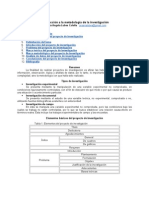 Introducción a la metodología de la investigación
