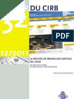 CIRB Cahier 32 - La Région de Bruxelles-Capitale en ligne