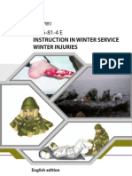 UD 6-81-4 (E) Instruction in Winter Service-Winter Injuries
