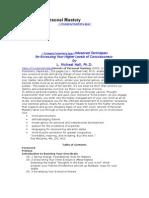 eBook - NLP Secrets of Personal Mastery