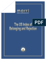 US Index of Belonging and Rejection 12-16-10