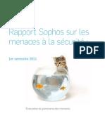 Rapport Sophos sur les menaces à la sécurité
