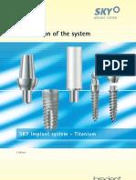 SKY Implant System - Titanium_GB