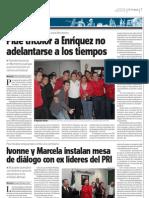 03-02-12 Ivonne y Marcela instalan mesa de diálogo con ex líderes del PRI