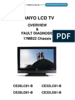 SANYO CE26 32LC D8120TV20 Training Brochure 72