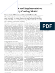 University Costing Model Document