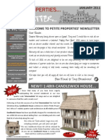 Petite Properties JANUARY 2011
