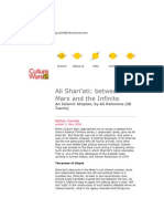 Ali Shari'ati between Marx and the Infinite Nathan Coombs