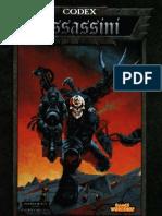 [Warhammer 40k] Codex - Assassini ITA