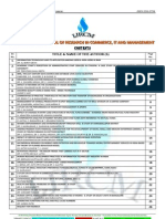 Abstracts of Vol-1 Issue-4 of International Journal of Research in Commerce, IT & Management