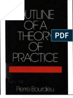 Outline of a Theory of Practice Cambridge Studies in Social and Cultural Anthropology