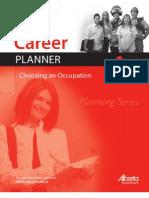 Career Planner Choosing an Occupation Planning Series