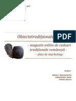 Plan de Mk Pentru Obiectetraditionale.ro