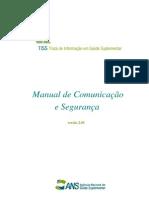 Manual TISS - Troca de Informação em Saúde Suplementar (ANS)