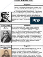 Les idéologies du XIX eme siècle