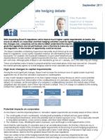Basel III the Corporate Hedging Debate