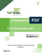 Migrantes | Coordenadas | 01 al 15 diciembre 2011