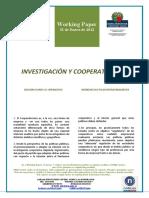 INVESTIGACION Y COOPERATIVISMO