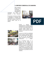 Historia Del Emporio Comercial de Gamarra
