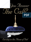 Will You Answer the Call (Excerpt)