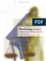 Access to Judicial Information in Latin America