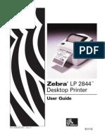 Zebra-LP-2844