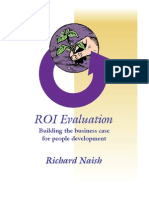 ROI Evaluation Building the Business Case for People Development