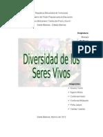 Divers Id Ad de Los Seres Vivos