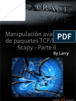 Manipulacion avanzada de paquetes tcp/ip con scapy parte  II