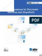Digital Signatures for Share Point
