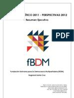 Balance Político 2011/texto/ fBDM