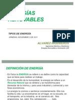 PPT UQ - Tipos de energía