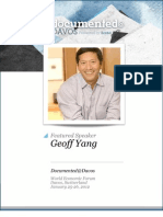 Geoff Yang is Documented@Davos Transcript