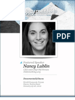 Nancy Lublin is Documented@Davos Transcript