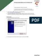 1.B Panduan Instalasi & Dial Up Driver Modem AC 682