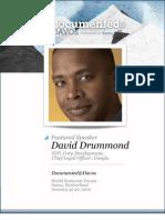 David Drummond Documented@Davos Transcript