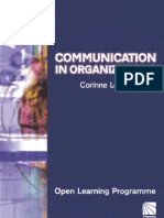 Communication in Organ is at Ions CMIOLP CMI Open Learning Programme